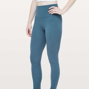 ISO petrol blue leggings size 4